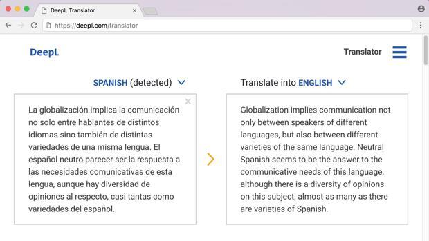 Cuál Es El Mejor Servicio De Traducción Online Deepl Quiere