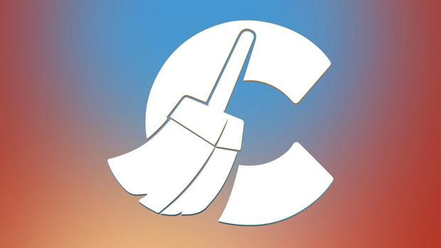 Detalle del logo de CCleaner, una de las herramientas más populares