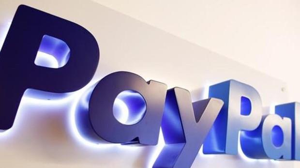 Logo de la empresa de pago online, PayPal