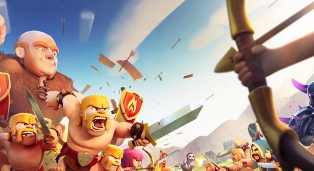 Captura de «Clash of Clans»