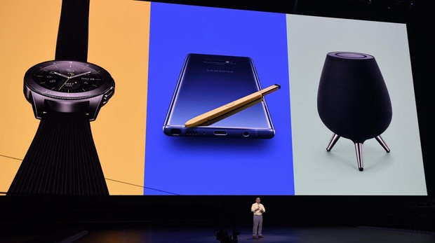 Samsung ha presentado el Note 9, Galaxy Watch y Galaxy Home