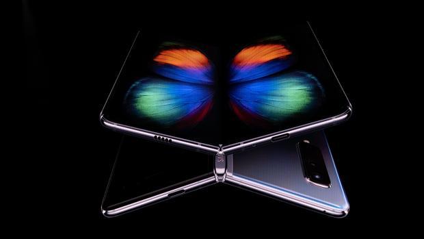 Galaxy Fold de Samsung, uno de los protagonistas de esta edición del MWC 2019