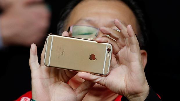Usuario de iPhone