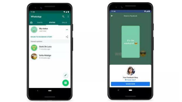 Whatsapp Pone A Prueba Su Función Para Compartir Sus Estados