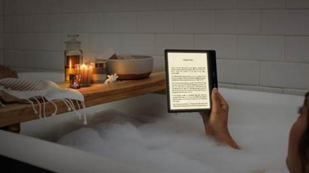 Detalle del nuevo Kindle Oasis
