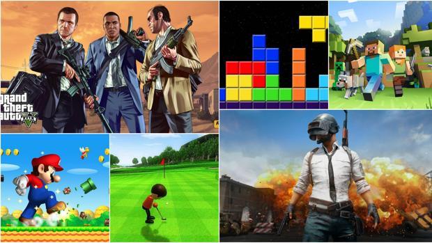 Los videojuegos más populares de las últimas décadas