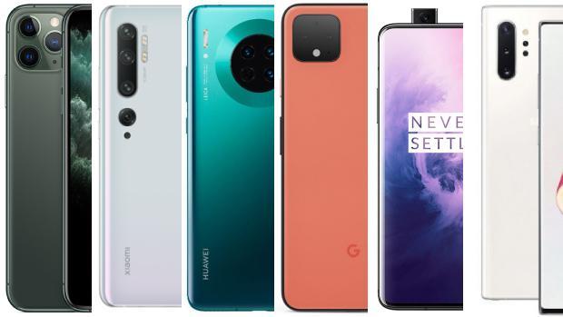 Los mejores smartphones de 2019: del iPhone 11 Pro al Galaxy Note 10 Plus