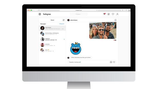 Instagram: cómo mandar mensajes directos desde el ordenador