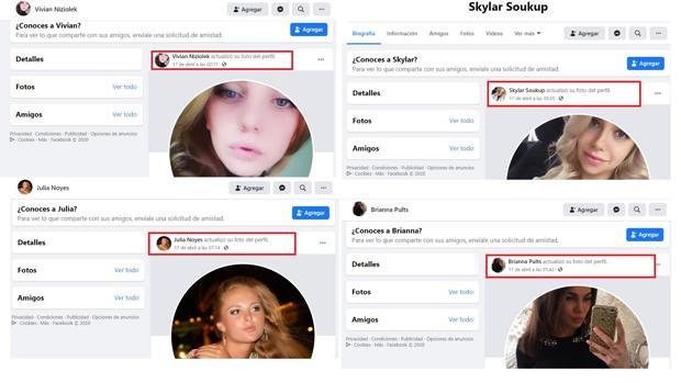 El Gobierno dice que es una «víctima» de una red de perfiles falsos que elogian su perfil de Facebook