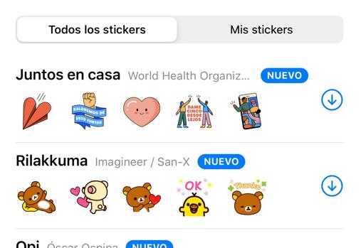 Cómo descargar los nuevos «stickers» de WhatsApp y la OMS sobre la  cuarentena
