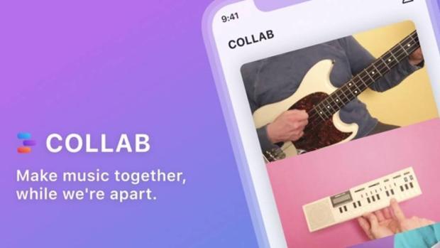 Collab: la «app» musical de Facebook para desafiar a TikTok