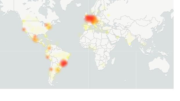 Captura de los fallos localizados de WhatsApp