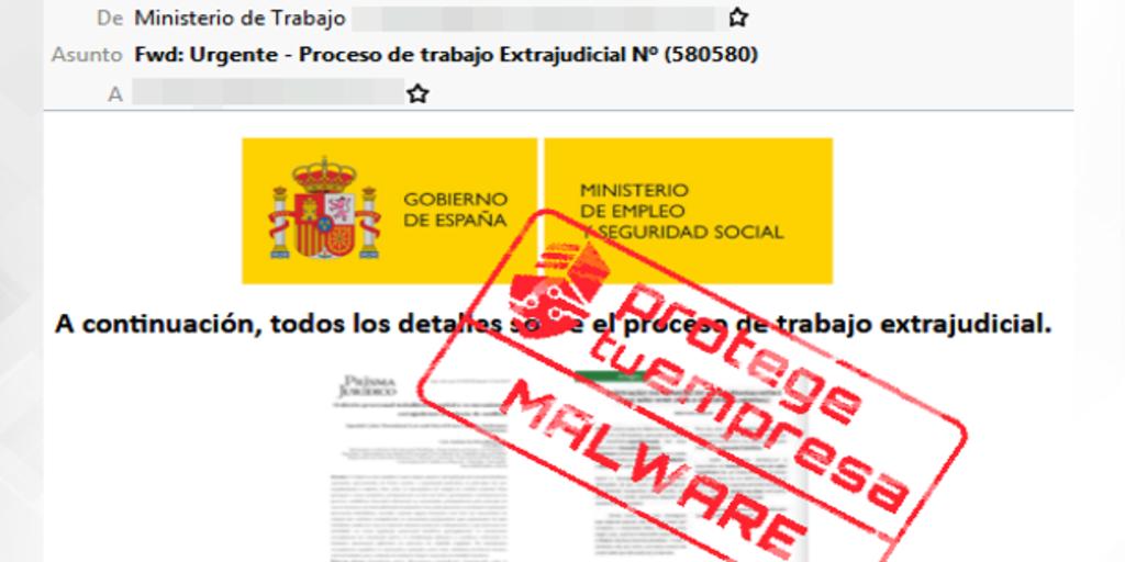 Cuidado: los cibercriminales están suplantando al Ministerio de Trabajo para «hackearte»