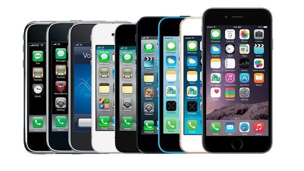 iPhone: así ha evolucionado la perla de Apple a lo largo de los años