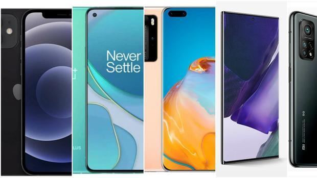 Los mejores teléfonos móviles de 2020