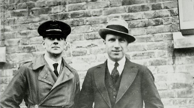 Arthur Whitten Brown y John Alcock in 1919