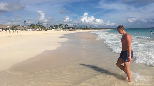 Playa de un todo incluido en Punta Cana