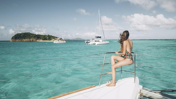 Imagen de un feliz día de navegación