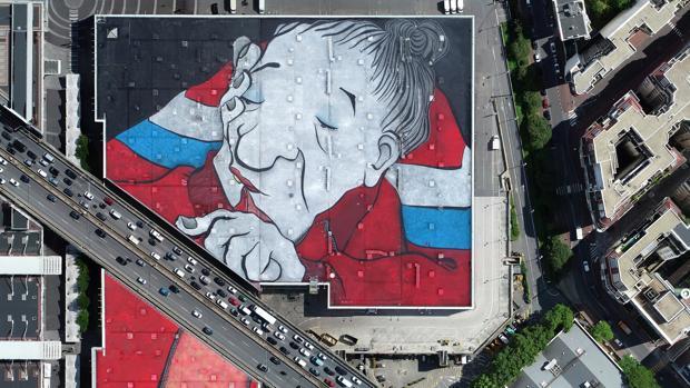 El mural de arte callejero más grande del mundo ubicado en París