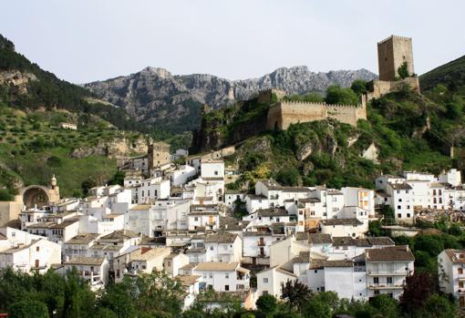Cazorla, junto al castillo de Yedra