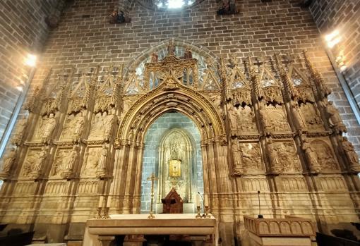Capilla del Santo Cáliz, en Valencia